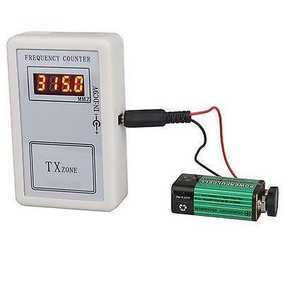 Precision Frequency Counter for Hand-held Tester Wireless Remote Controllers