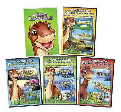 The Land Before Time Series Complete Movies 1 - 13 Boxed / DVD Set(s) NEW!