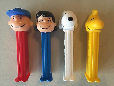 PEZ - 2015 Peanuts - Set of 4 - Mint - Loose