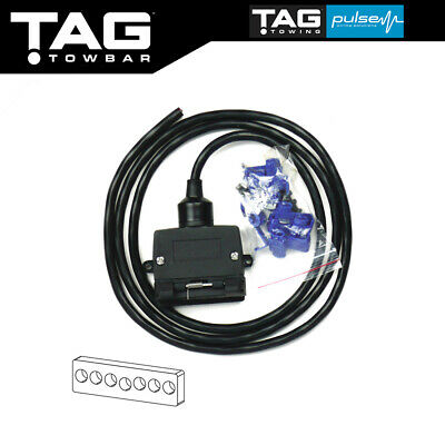 Admirable 7 Pin Towbar Trailer Wiring Harness Kit Toyota Camry Corolla Hiace Wiring Digital Resources Cettecompassionincorg