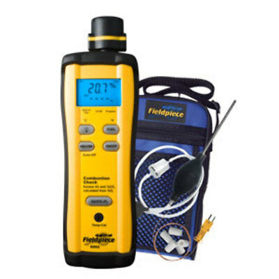Fieldpiece SOX3 Digital Combustion Check Meter Kit