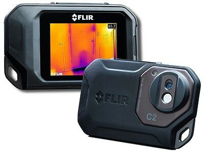 FLIR C2 Compact Thermal Imaging Camera with MSX with Free Case