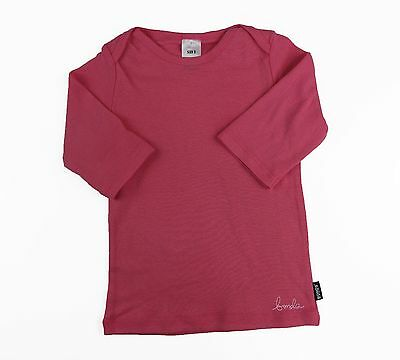 Bonds Baby Girl Girls 3/4 Length Sleeve Top Tee Tshirt Pink Size 0000 000 00 0 1
