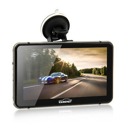 """7"""" Android 4.4 GPS 1080P HD DVR with Dash Cam Touchscreen FM Transmitter U.S"""