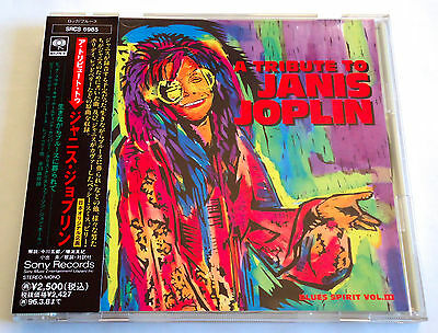 A TRIBUTE TO JANIS JOPLIN JAPAN PROMO CD w/OBI Big Brother Leonard Cohen