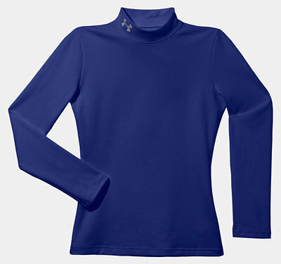 035107 SPORTS SALE Under Armour CG Evo Fitted Junior Mock Baselayer - Royal