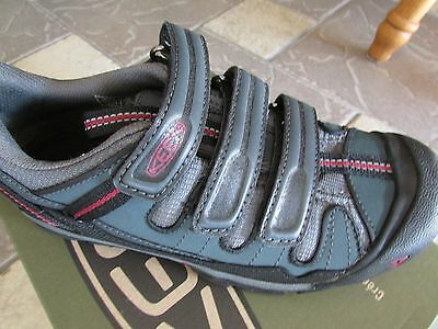 New Keen Springwater 2 Bolt Mountain Biking Shoes Womens 6 Easy Ties Free Ship