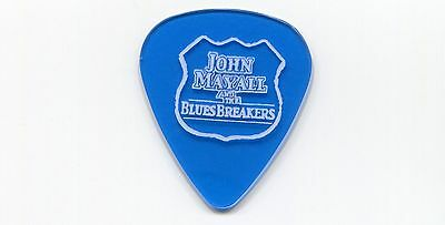 JOHN MAYALL AND THE BLUES BREAKERS Concert Tour Guitar Pick!!! custom stage Pick