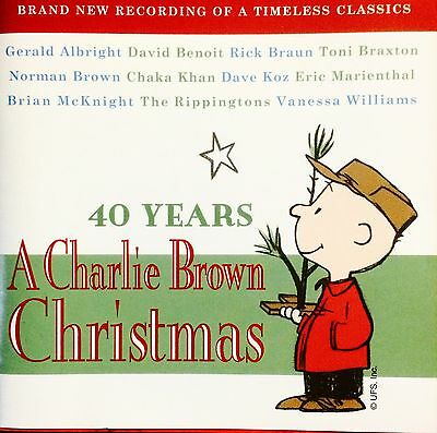 40 YEARS A CHARLIE BROWN CHRISTMAS CD New Artist Timeless Classics