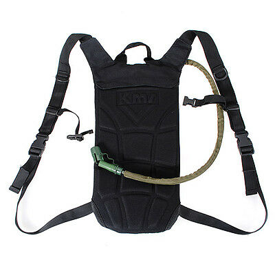 3L Hydration System Water Bag Pouch Backpack Bladder Survival Hiking Climbing UK