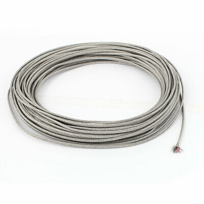 Temperature Sensor Probe Tester K-Type Thermocouple Wire 0.4mm x 16m