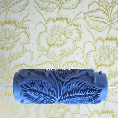 "15cm (5.9"") Empaistic Flower Pattern Painting Roller for Wall Decoration #2"
