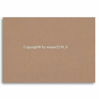 60 Sheets A5 BROWN KRAFT 230gsm Recycled Cardboard Cardstock Paper DIY 14.8x21cm