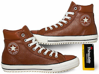 CONVERSE CHUCKS BOOT 2.0 Thinsulate Leather Pinecone Brown