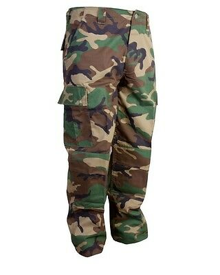 US Army Camo Woodland BDU Pants/Trousers