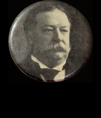 1908 William Taft Republican Party Presidential Campaign Celluloid 22 Mm Button