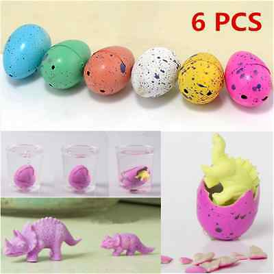 Magic Growing Dino Eggs Hatching Dinosaur Add Water Inflatable Kid Toy hot FT64