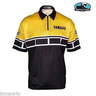 Yamaha 60Th Anniversary Crew Shirt Black/yellow #crp-15S60-Bk