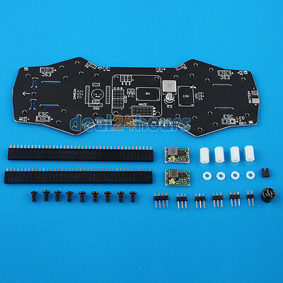 NAZE32 CC3D Integrate PCB Power Distribution Board For QAV250 ZMR250 250mm Frame