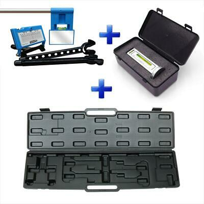 Trackace Superdeal - Laser Alignment Kit + Case + BlackLine Caster Camber Gauge