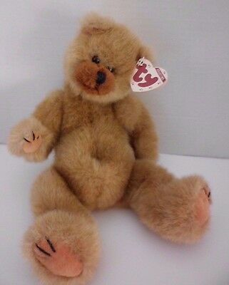Ty Original Beanie Bear Clyde Brown With To And From Tag
