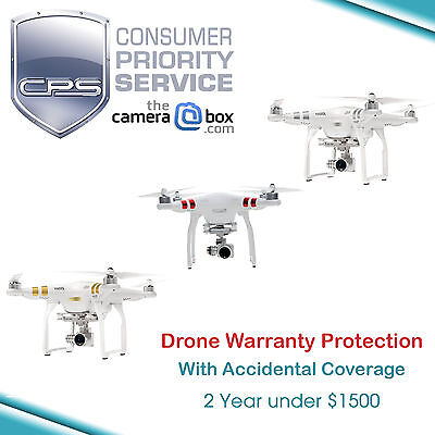 CPS 2 Year Drone Warranty + Accidental for Phantom 3 Professional #DRN2-1500