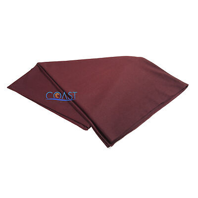 "XScorpion UV Treated Subwoofer Speaker Grill Cloth 66"" X 36"" GC-3BU - Burgundy"
