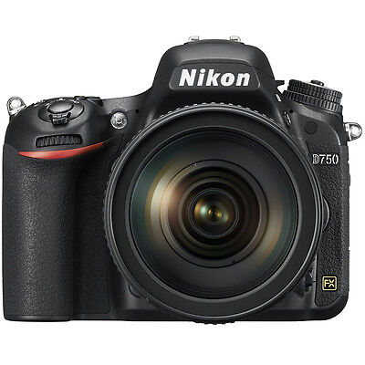 Nikon D750 DSLR 24.3MP Digital Camera w/ AF-S NIKKOR 24-120mm f/4G ED VR Lens