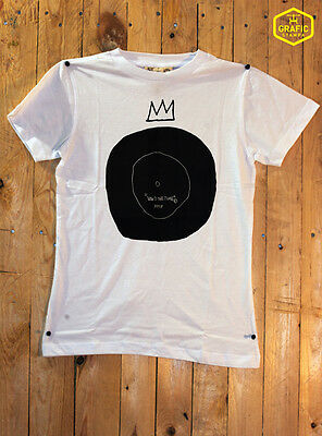 T-shirt - JEAN MICHEL BASQUIAT - NOW'S THE TIME -