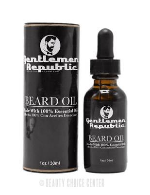 Gentlemen Republic Beard Oil 1oz - MADE IN U.S.A.