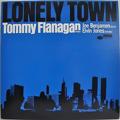 Tommy Flanagan Lonely Town Japan Blue Note LP 1979 King GP 3186 Insert