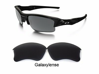 ddc176ef51 Galaxy Replacement Lenses For Oakley Flak Jacket XLJ Sunglasses Black  Polarized