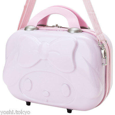 Sanrio My Melody die cut mini trunk suitcase Luggage bag Pink NWT limited