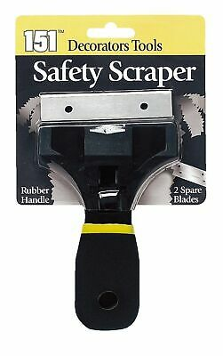 151 Safety Scrapper Rubber handle Ideal For home- School & Office