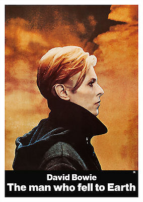The Man Who Fell to Earth (1976) - A1/A2 Poster *BUY ANY 2 AND GET 1 FREE OFFER*