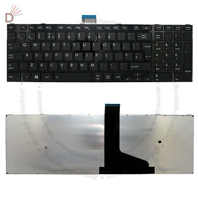 Toshiba SATELLITE PRO C50-A-1E1 Notebook Laptop Keyboard UK Layout New Black