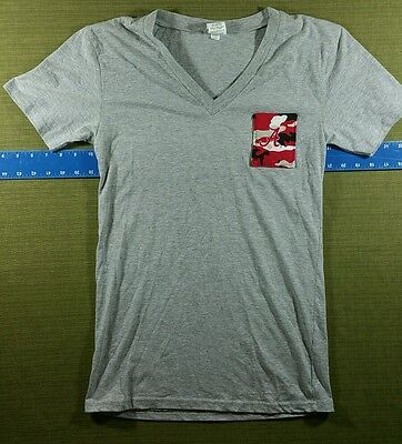 Women's Alabama Crimson Tide Pocket V-Neck T-Shirt Size Medium