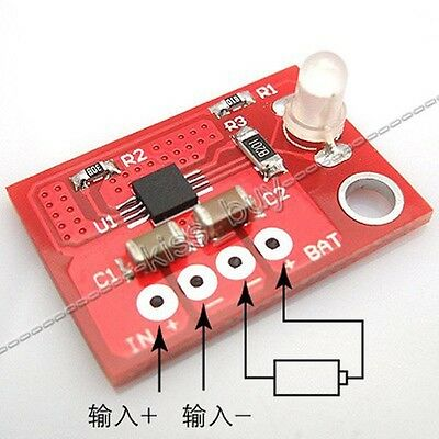 lithium battery charge board 3.7V charging module 4.2V-charger solar controller