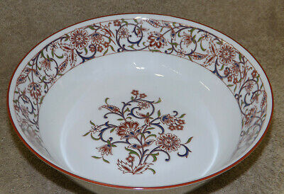 Noritake China Firedance Round Vegetable Serving Bowl 8 7/8""