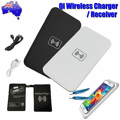 QI Wireless Charger Pad,Charging Receiver 4 Samsung Galaxy S4,S5,S6 Edge,Note 4