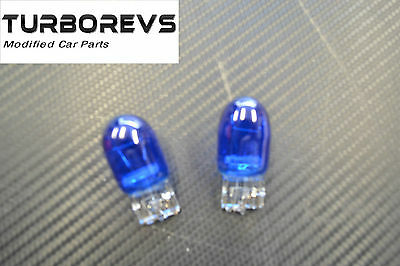 2 X T20 Sidelight Drl Xenon Blue Hid 8000K Bulbs Double Filament
