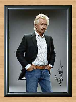 NOEL EDMONDS HQ Deal or No Deal Signed Autographed A4 Print Photo Poster dvd tv