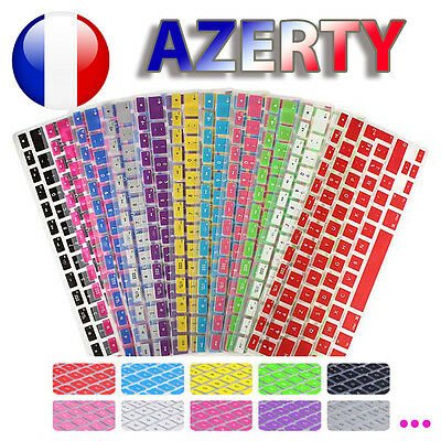 "☆ Protège Clavier Silicone AZERTY protection pour Macbook Air Pro 13"" 15"" 17"" ☆"