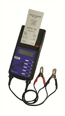 Sykes Pickavant Professional Battery & Electrical Systems Tester c/w Printer