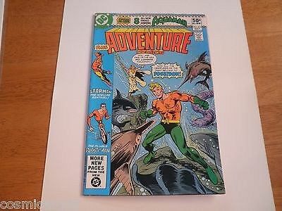 Adventure Comics 476 NM 1970s Bronze Age Aquaman Poseidon comic book HIGH GRADE