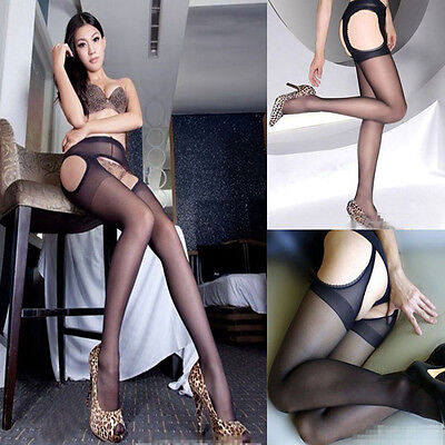 Vogue tights Sexy stockings Four open crotch stockings off pantyhose for Lady
