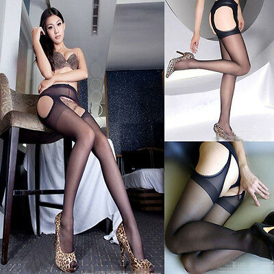 Vogue tightsSexystockingsFouropencrotchstockings offpantyhoseforLady