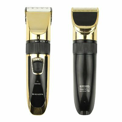 Rechargeable Men's Electric Beard Hair Shaver Razor Trimmer Blade Clipper