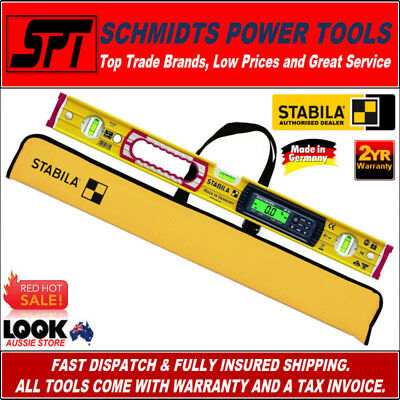 STABILA 600mm DIGITAL SPIRIT LEVEL DUAL DISPLAY 60cm 196-2 ELECTRONIC 17670 NEW