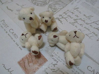 Mini Plush Classic Bears White/Pink/Blue Gender Reveal/Wedding Favor/Baby Shower